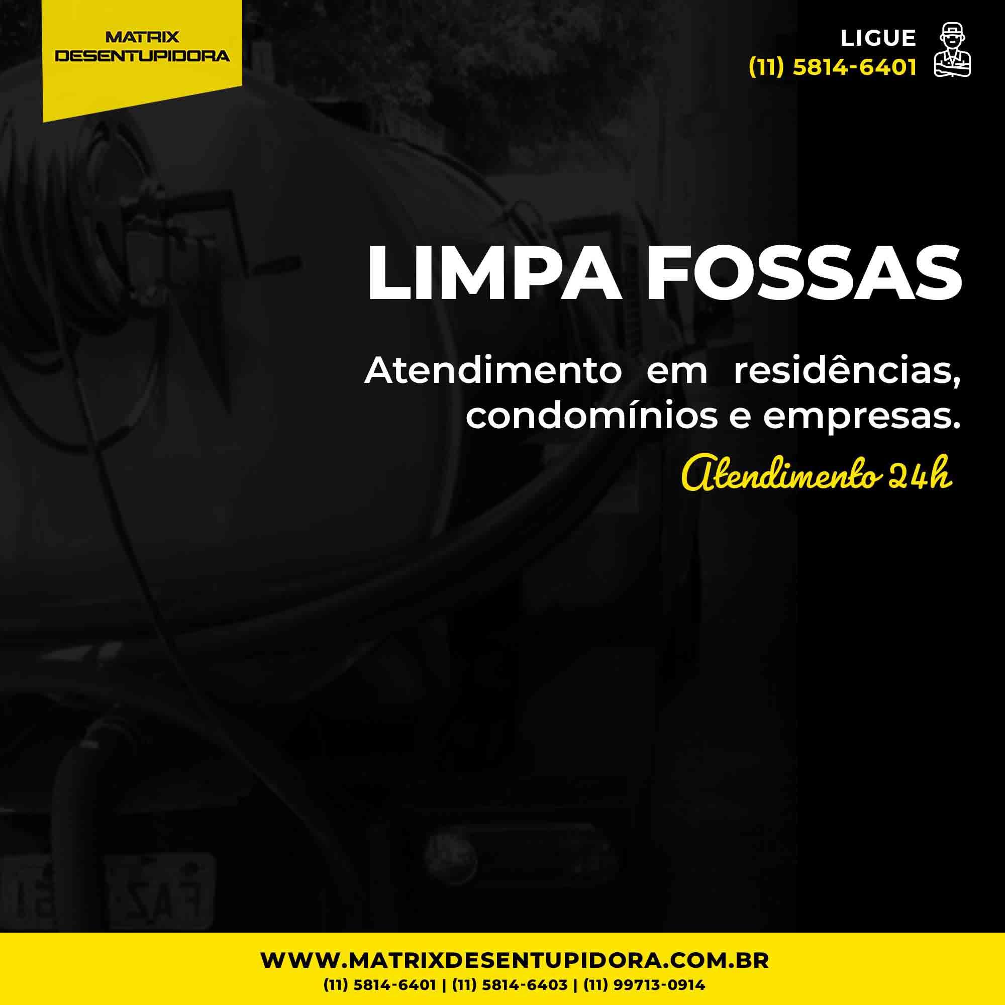 empresa desentupidora em Rio Grande da Serra